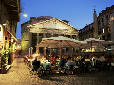 Restaurants Near the Ancient Pantheon
