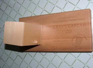 aranykaptár díj - 2007