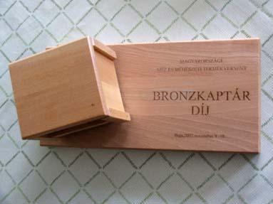 Bronzkaptár díj - 2002.