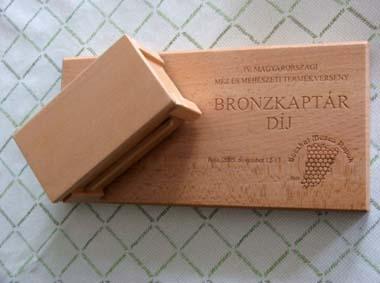 bronzkaptár díj - 2005
