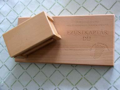 ezüstkaptár díj - 2005