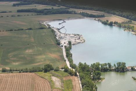 Kavicsbánya-tó