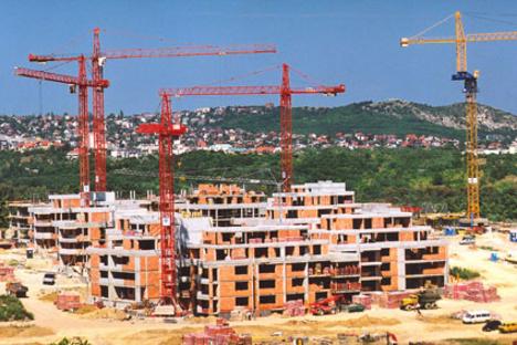 koerberek lakópark építése