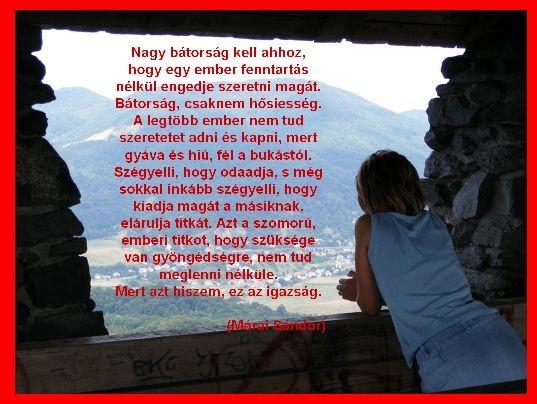 márai idézetek szerelem Béke: Márai Sándor a szeretetről (kép)