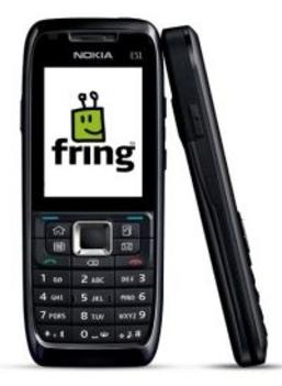 Nokia E51 VoIP üzleti mobil