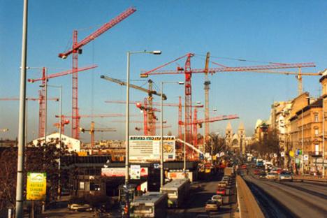 westend építése2