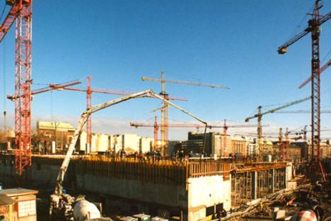 westend építése