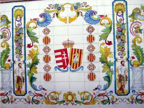 árpádházi Jolánta emléke Katalóniában