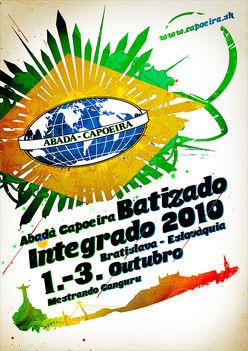 Abada capoeira (batizado integrado 2010)
