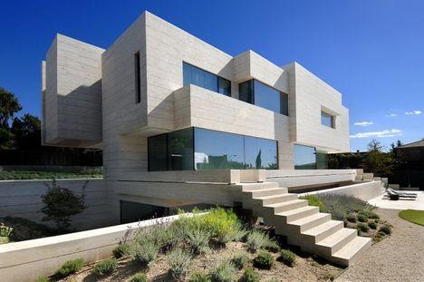 Építészet és művészet: A-cero ház