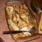 Fűszeres, sült pulykaszárny, petrezselymes burgonyával