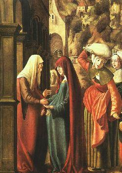 Maria látogatása Erzsébetnél