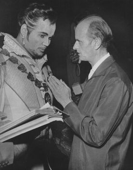 Fricsay Ferenc - Fischer Dieskau_Don Giovanni jelmezes próba_1961