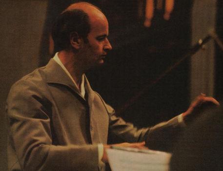 Fricsay Ferenc dirigál