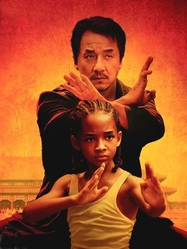 Karate Kid Jeckie és Jaden.
