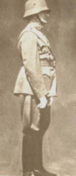 a 9.honvéd gyalogezred egyenruhájában