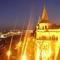 Budapesti panoráma a Halászbástyáról