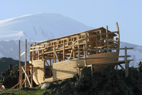 Elkészült Noé bárkája az Araráton! 04
