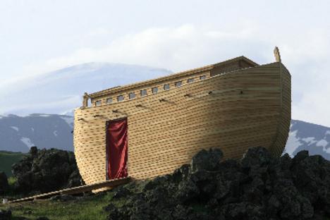 Elkészült Noé bárkája az Araráton! 07