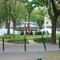 Látkép a Bokréta utca sarákól a Ferenc térre