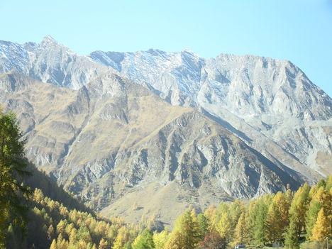 Svájc Graubünden kanton 2010.okt