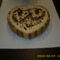 tiramisu szív torta