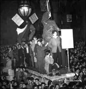 október 23 tüntetések