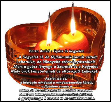 Emlék halottainkra, Gyász 1
