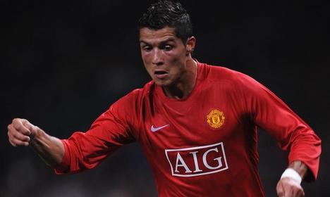 Cristiano Ronaldo (Manchester United) a Villareal elleni meccsen