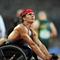 Josh George, 2008 Paralimpia, atlétika