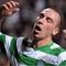 Scott Brown (Celtic) Aalborg elleni gólja után