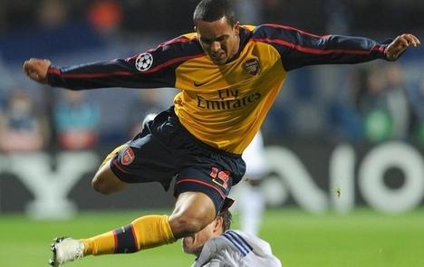 Theo Walcott (Arsenal) a Dynamo Kiev elleni meccsen