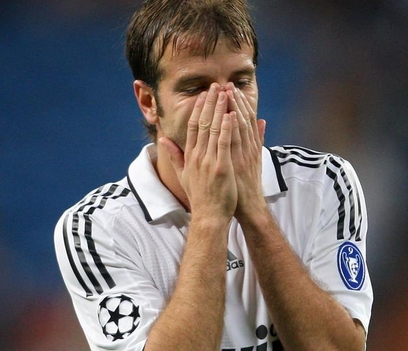 Van der Vaart (Real Madrid) a Bate Borisow elleni meccsen