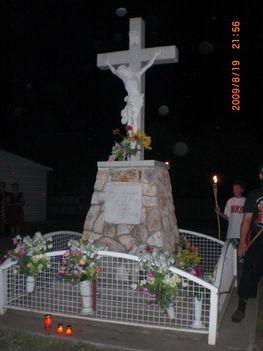 Emlékkereszt Pacsirtán