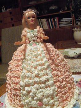 Panna hercegnő tortája 009