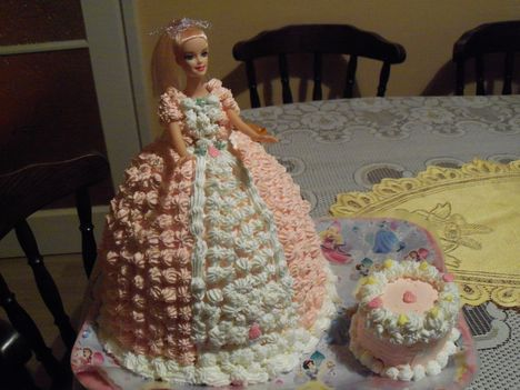 Panna hercegnő tortája 013