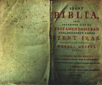 Patakfalvi Biblia