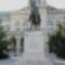 Lovashuszár szobor elölnézetbő