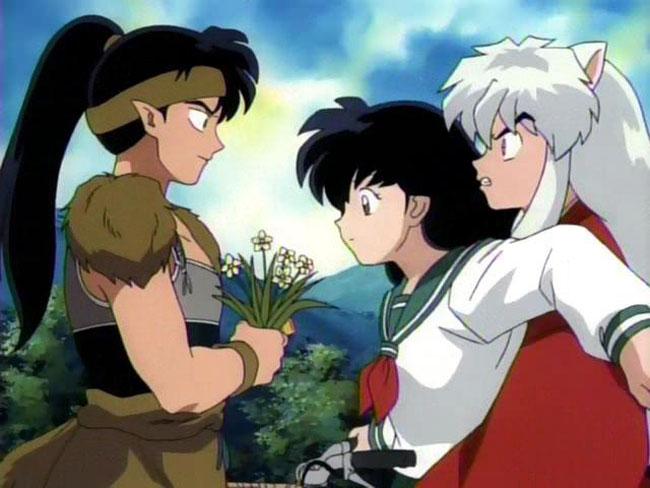 Baby+Koga Anime: koga vs inuyasha (kép)