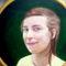 portré arany keretben