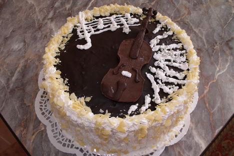 Torta és hegedű