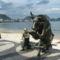 Érdekes szobrászati alkotás, Copacabana
