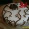 Csoki torta- csoki rózsával