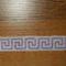 fehér-lila  görög mintás szövött