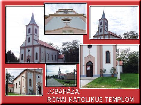 Képeslap a templomról