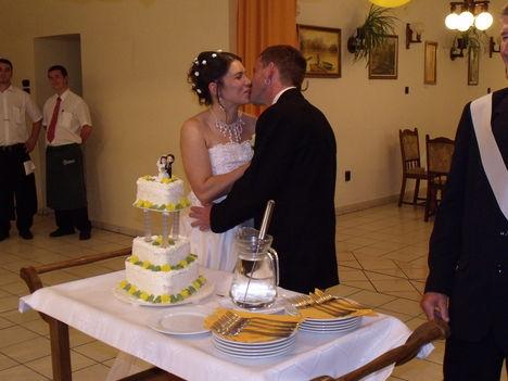 Szeretnélek benneteket így jelképesen megkínálni egy szelet tortával.
