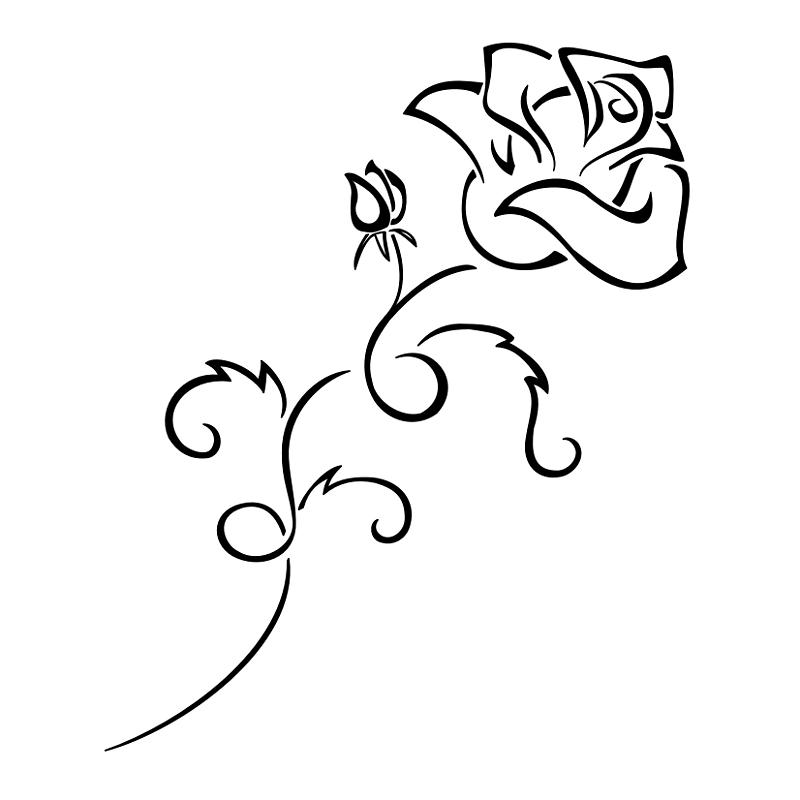 blooming-rose-tattoo