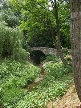 Egykori malom hídja