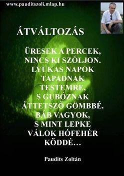 Paudits Zoltán Versei