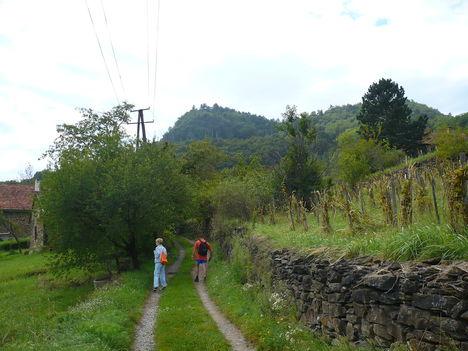Útban a Szent György hegyre